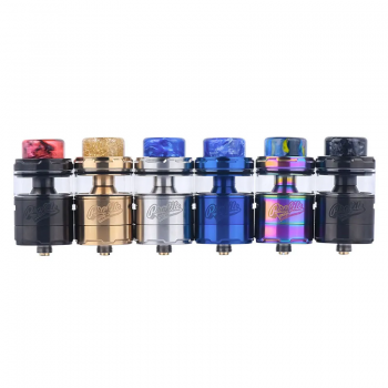 Wotofo Freakshow Mini RDA Tank with Adjustable Bottom Airflow Version-Sliver