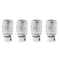 Uwell Crown Replacement Coil for Uwell Crown Tank 4pcs Packing Ni200 TC  Dual Coil Head-0.15ohm