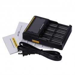 Nitecore D4 Digicharger with 4 Channels for Li-ion Battery - EU Plug