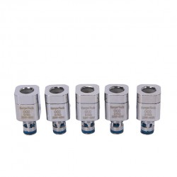 Kanger Ni200 Replacement Coil Head Fit Subtank Series Clearomizers 5pcs-0.15ohm