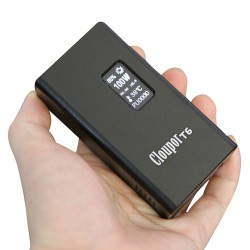 Cloupor T6 100W VV / VW Box Mod - silver