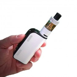 Innokin Cool Fire IV Plus 70W with iSub G 4.5ml Starter Kit 3300mah Capacity Adjustable Airflow 0.5ohm Vapemate-White