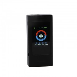 Joyetech OCULAR C 150W Touchscreen Mod with VW/VT/Bypass/TCR/Logo/Preheat Mode Powered by Dual 18650 Cells- Black