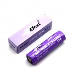 Efest  IMR 18650 2500mah 35A Rechargeable Battery Flat Top-2pcs