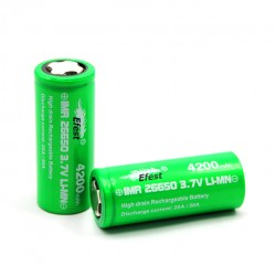 Efest  IMR 26650 4200mah 50A Rechargeable Battery - Flat Top