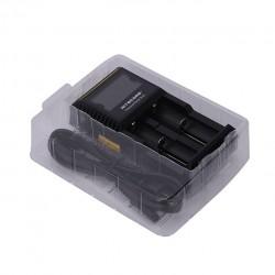 Nitecore D2 Digicharger with 2 Channels for Li-ion Battery - EU Plug