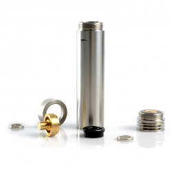 Wismec Skyladon Mechanical Mod Compatible with 18650 Battery- silver
