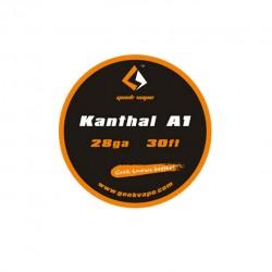 Geek Vape Kanthal A1 28GA Standard Wire 30ft - 5.64ohm/ft