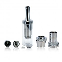 Clou Tank M4 Dry Herb Atomizer Kit by Cloupor - stainless steel