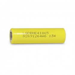 LG HE4 Rechargeable 18650 2500mah Flat Top Battery