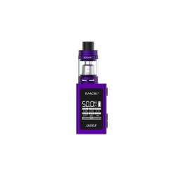 Smok QBOX Kit with TFV8 Baby Tank - purple, 2ml