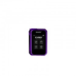 Smok G-PRIV 220 TC/VW  220W Touch Screen Mod Powered by Dual 18650 Cells- Black&Purple