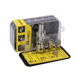 Uwell Crown 4ml Sub-Ohm Tank with 3 Coil Heads (0.25ohm,0.15ohm,0.5ohm)
