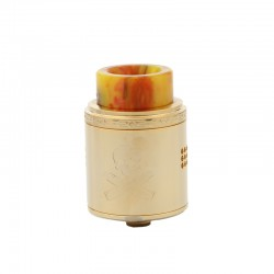Vandy Vape BONZA RDA Rebuildable Dripping Atomizer with 2ml Capacity and Side Airflow Control-Gold