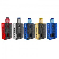 5 colors for Blitz Vigor 81W Squonk Kit