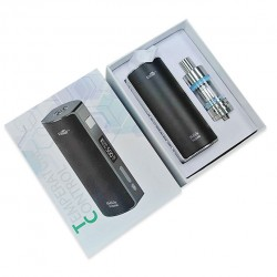 Eleaf iStick 60W Temperature Control Box Mod with OLED Screen with Melo 2 Atomizer Kits - Black Frame