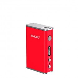 SMOK R80 80W TC Mod 4000mah Built-in Battery Support SS/Ni200/Ti Wire Coils Upgradeable Firmware Temperature Control Mod-Red