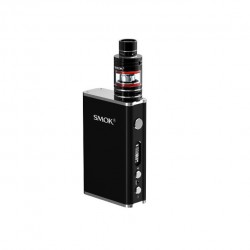 Smok Micro One Starter Kit Mirco 3.5ml TFV4 Tank with R80 80W TC Mod 4000mah Mod Kit Support SS/Ni200/Ti Wire Coils-Black