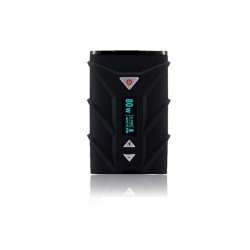 Ephro Ehpro SPD A8 80W TC Box Mod 4000mah Built-in Battery TC(NI/Ti)/PC/VC  Modes Upgradeable Firmware - Black