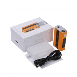 Joyetech eVic-VT 60W Temperature Control 5000mAh Box Mod with OLED Screen - Racing yellow