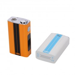 Joyetech eVic-VT 60W Temperature Control 5000mAh Box Mod with OLED Screen - Dazzling White
