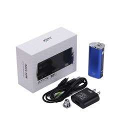 Eleaf   iStick 30W VV/VW Mod Box Kit 2200mah Battery with US Plug- Blue