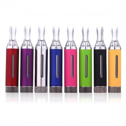 Kanger MT3S Clearomizer 3.0ml Compatiable with eGo Series Batteries-Pink