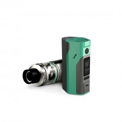 Wismec Bundle Kit with Reuleaux RX2/3  Mod and  Cylin 3.5ml Capacity RTA -Cyan&Grey