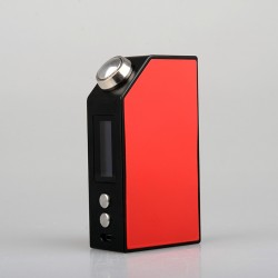 Wotofo Freakshow Tiny 60W TC Box Mod Powered by Single 18650 Battery 510 Connection with OLED Screen-Red