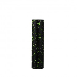 Wotofo Phantom Mod Powered by Single 18650 Battery 22mm Diameter Mod with Dual Top Caps 24K Gold Plated Springs-Black+Green