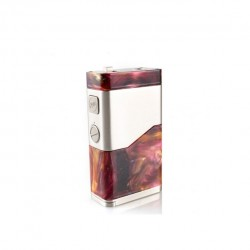 Wismec LUXOTIC NC 250W mod Replaceable for dual18650/20700 Cell-Red resin
