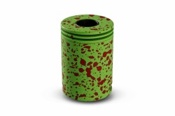 Wotofo Freakshow Innovative RDA Designed with Bottom Airflow Version-Green with Red Splatter