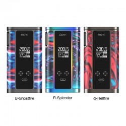 3 Colors for IJOY Captain Resin Mod