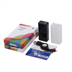 Cloupor Mini Plus 50W Smart TC Mod Supports Ni200/Ti Temperature Sensing Wire Mod-Black