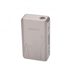 (SMOK)Koopor Plus 200W Temperature Control Box Mod with Dual Driver System -Stianless Steel
