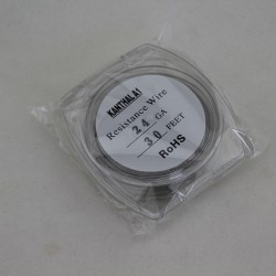 Kanthal A1 Resistance Wire for Rebuildable Atomizers 24GA 30 Feet Heat Resistant Material