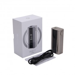 Joyetech  CUBOID 150W TC Mod 510 Connection Firmware Upgradeable Temperature Mod with OLED Screen-Stainless Steel