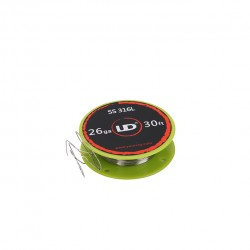 Youde UD 316 Stainless Steel Resistance Wire for Rebuildable Atomizers 26GA 10m