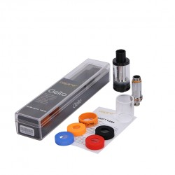 Aspire Cleito Sub Ohm Tank Kit Clearomizer Newest Tank with Top-Filling and 3.5ml Capacity - Black
