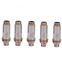 Aspire Cleito Dual Clapton Replacement Coil Head for Cleito Tank 5pcs-0.4ohm
