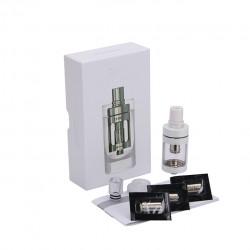 Joyetech  CUBIS Atomizer Kit 3.5ml Adjustable Airflow No Spilling Atomizer with Bottom Feeding Coil BF SS316/Clapton Head-White