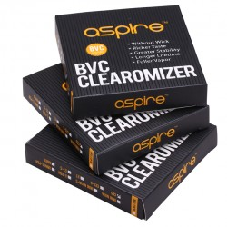Aspire ET  BVC Clearomizer 5pcs