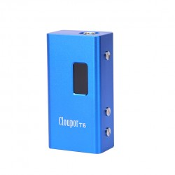 Cloupor T6 100W VV / VW Box Mod - blue