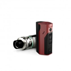 Wismec Bundle Kit with Reuleaux RX2/3  Mod and  Cylin 3.5ml Capacity RTA -Red&Black