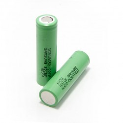 2PCS Samsung ICR 22FM 18650 3.7V 2200mAh Li-ion Flat Top Batteries