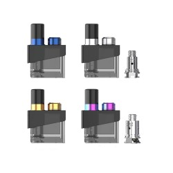 4Colors For SMOK Trinity Alpha Pod Cartridge with Coils US Edition