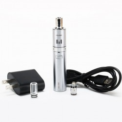 Joyetech  eGo ONE Starter Kit 1100mAh Battery 1.8ml Atomizer US Plug- Silver