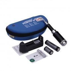 Kamry K100 Mechanical Mod Telescopic Mod 18650/18350 Battery with US Plug- Blue