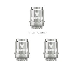 Tesla Citrine 24 T-X4  Replacement Coil 3pcs