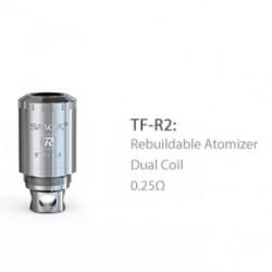 SMOK TFV4 Coil Head TF-R2 RBA Dual Coil - 0.25ohm